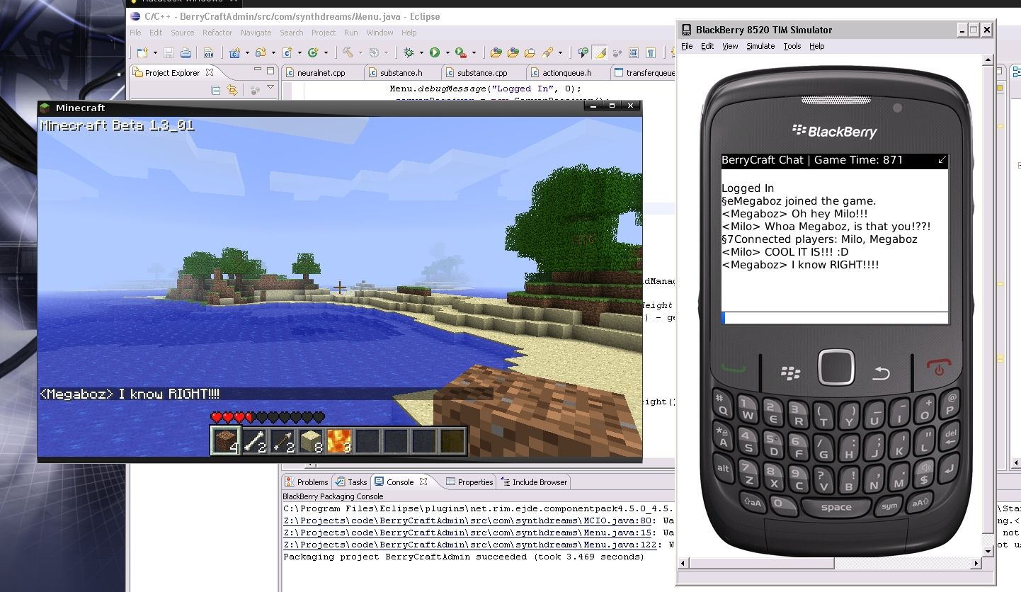 blackberry minecraft chat client toniwestbrook com it